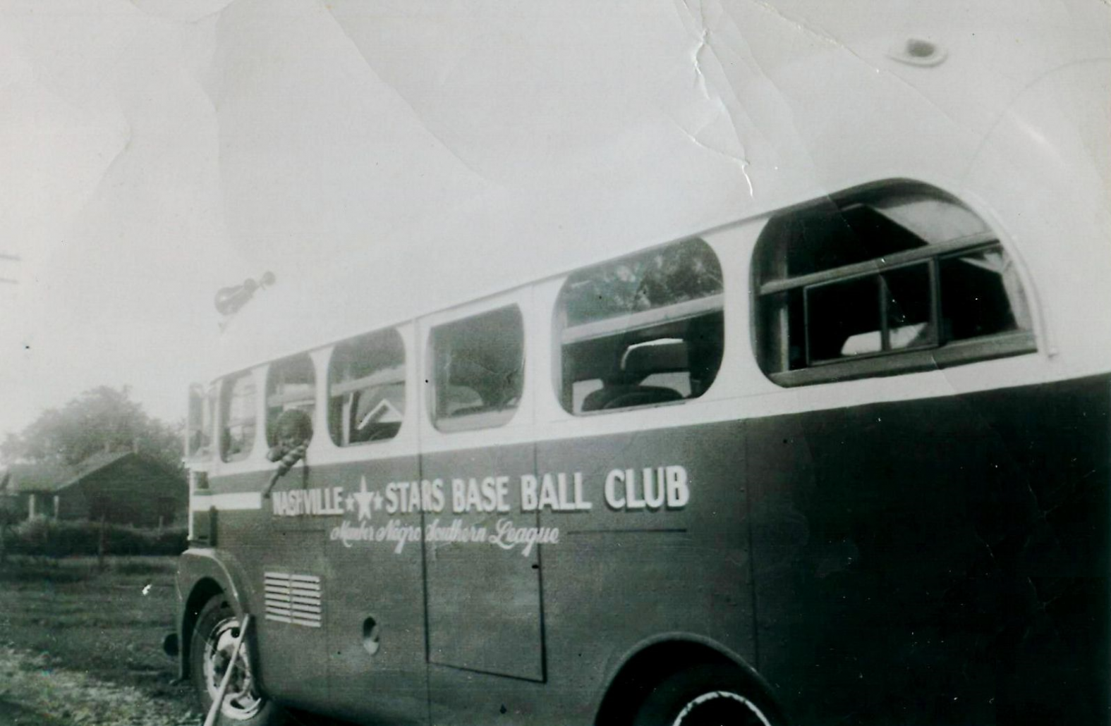 Historic Nashville Stars Team Bus