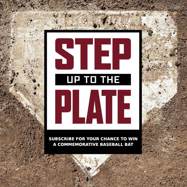 Step To The Plate: Email Subscribe