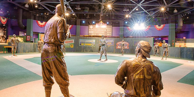 Negro League Baseball Museum in Kansas City, MO