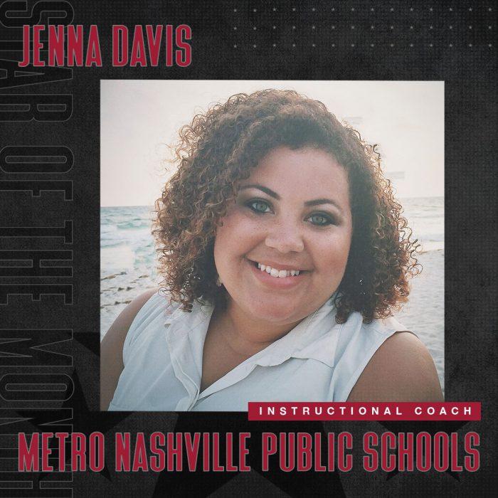 April 2021 Star Of The Month Jenna Davis