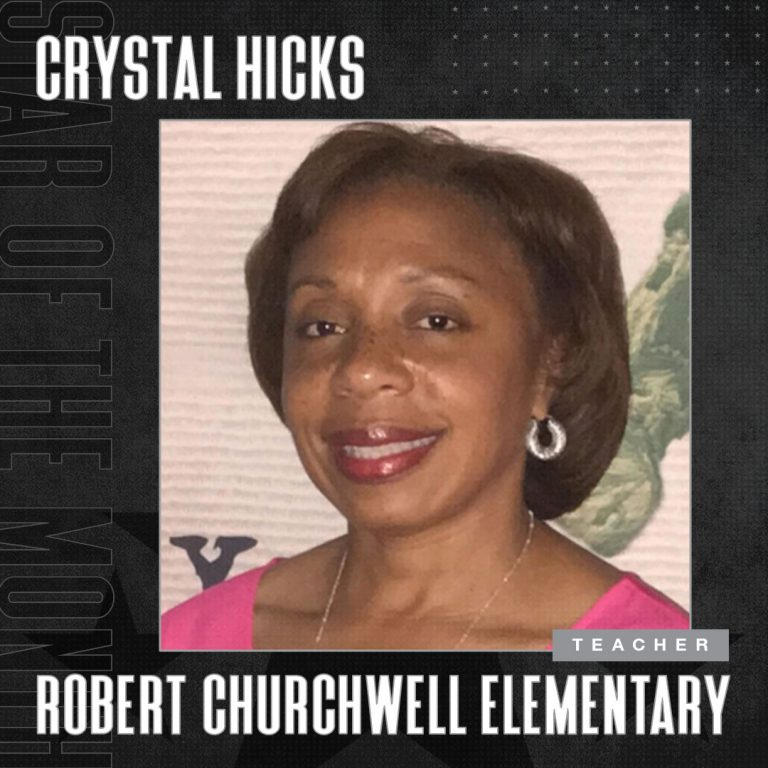 June 2021 Star Of The Month Crystal Hicks