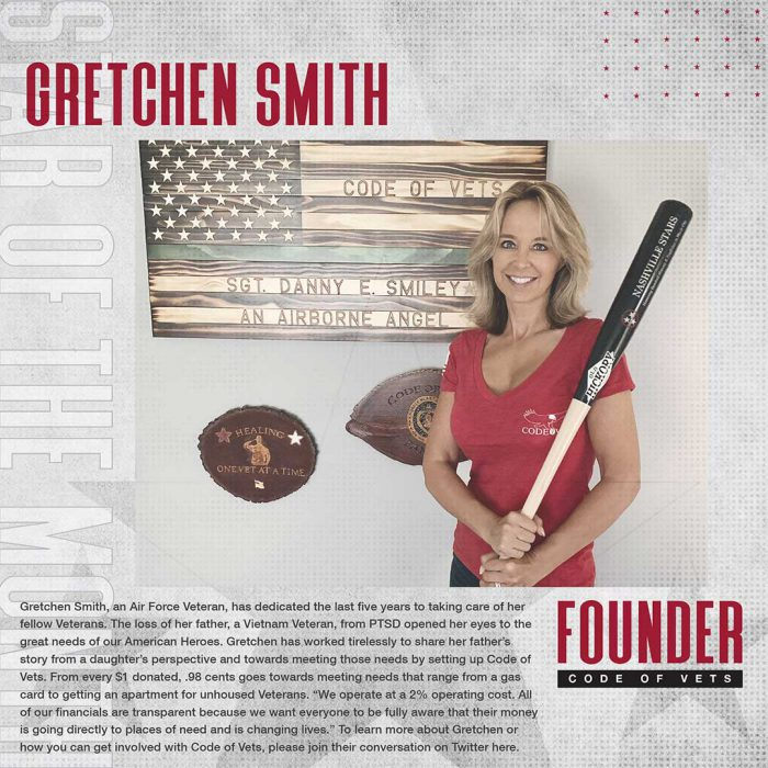 September 2020 Star Of The Month: Gretchen Smith