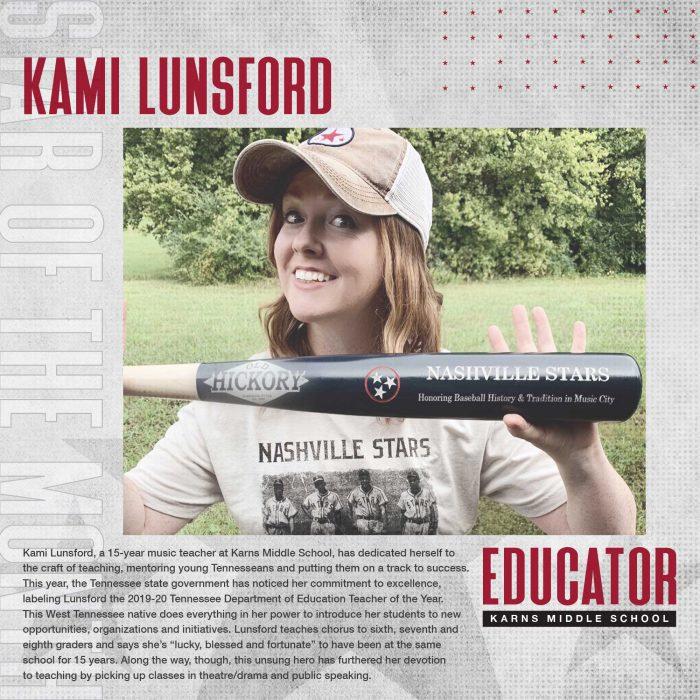 October 2020 Star Of The Month: Kami Lunsford