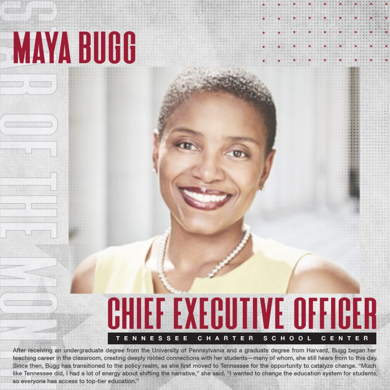 November 2020 Star Of The Month: Dr. Maya Bugg