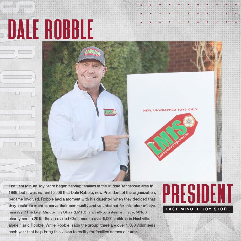 December 2020 Star Of The Month: Dale Robble